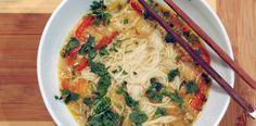 Crock Pot curried coconut chicken noodle soup- sounds good!