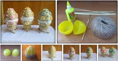 DIY Easter Egg Decorated with Beads Tutorial.JPG / UsefulDIY.com on imgfave