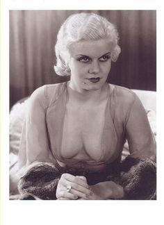 Jean Harlow in CHINCHILLA Fur