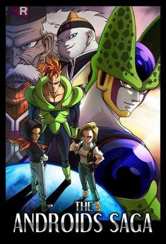 Android 16 17 18 19 and 20 Dr Gero + cell #dbz
