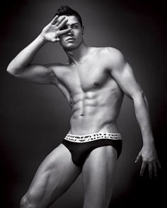 Cristiano Ronaldo (good one to play Christian Grey, too bad he's not an actor:)