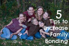 Family Bonding Tips