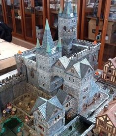 "341 Likes, 10 Comments - Dwarven Forge (@dwarvenforgeofficial) on Instagram: ""The stone houses from city builder can be easily combined into the newer castle sets. The…"""