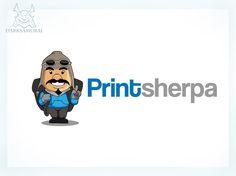 printsherpa needs a new logo by darksamurai