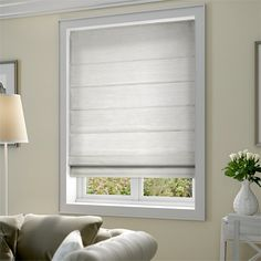Dupioni Faux Silk Starlight Grey Roman Blind from Blinds 2go