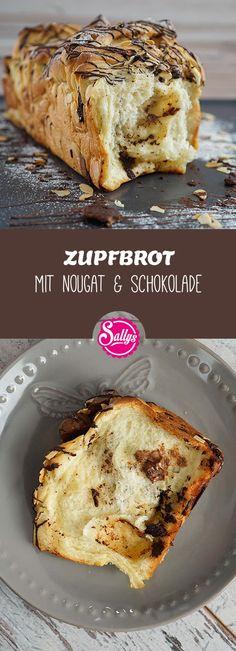 Ein locker leichter Hefeteig mit Nougat, Schokolade und gehobelten Mandeln. Das Zupfbrot wird nicht geschnitten, sondern kann einfach mit den Händen abgezupft werden, da einzelne Teigschichten aneinandergereiht werden.