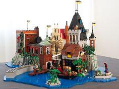 Beautiful LEGO castle