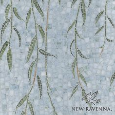"Willow natural stone hand cut mosaic | New Ravenna Mosaics CB1004WILLOW (19""x19"")"