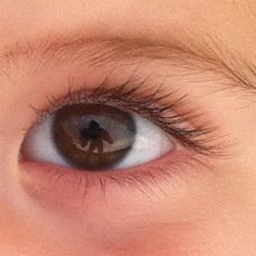 Brown eye from my little girl!! by Marieke BC