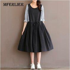 Summer Dresses For Women, Trendy Dresses, Women's Dresses, Plus Size Dresses, Plus Size Outfits, Nice Dresses, Dresses Online, Loose Dresses, Dress Summer