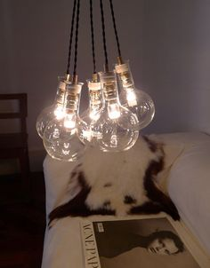 Laboratorio Lamp by ANVE : http://anve.bigcartel.com/product/laboratorio-up-there
