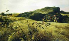 Blackberry Picker - Andrew Wyeth, reminds me of blackberry pickin', Iron Mountain, NC