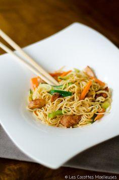 recette : le wok de poulet aux legumes
