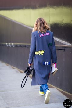 Mira Mikati Street Style Street Fashion Streetsnaps by STYLEDUMONDE Street Style Fashion Blog