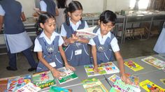 The Book festival conducted in spk gems schools, see these young and energetic guys how they are interested in books....