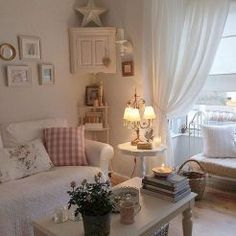 Shabby Chic Living Room Ideas (17)