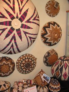 African Zulu Baskets