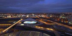 london aquatics centre. zaha hadid architects. 2014.
