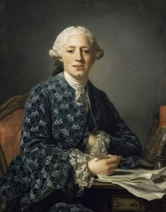 """""""Baron Thure Leonard Klinckowström"""" by Alexander Roslin, 1758. Sinebrychoffin Taidemseo"""