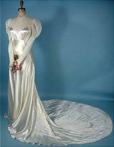 Robe de mariée 1930