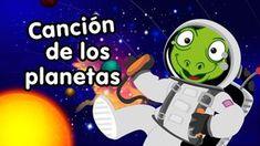 Canción de los planetas Vamos a viajar por el sistema solar Y algunos planetas vamos a visitar En una aventura interestelar. Estamos en el sol que nos da luz...