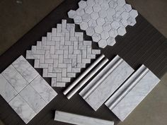 """Tile (floor at shower and water closet): 1""""x2"""" bianco-collection-mosaics.jpg (2048×1536)"""