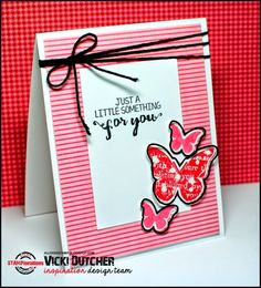 All I Do Is Stamp-- Designs by Vicki Dutcher: A Couple of Sketch Challenges