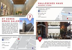 """HIDDEN BERLIN GUIDE: St Agnes König Galerie""""most exciting contemporary/ modern art spaces"""" Prinzenstr Hallesches Haus: Beutiful cafe and lunch place. In summer there are some great events including nomad cinema and parties. Berlin Travel, St Agnes, U Bahn, City Break, General Store, Brutalist, Europe, Pocket, Architecture"""