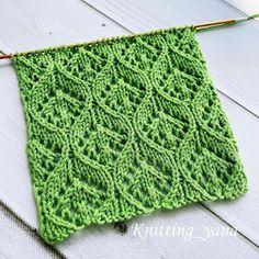 Free crochet patterns and video tutorials: Free knitting stitch pattern Crochet Wedding Dress Pattern, Crochet Tunic Pattern, Crochet Blanket Patterns, Crochet Motif, Free Crochet, Stitch Patterns, Crochet Shark, Crochet Daisy, Knitting Stitches