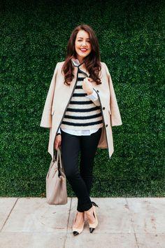 Amy Havins from Dallas Wardrobe featuring Ann Taylor and Prada. Casual Elegant Style, Classic Style, Dallas Wardrobe, Classic Wardrobe, Everyday Fashion, Autumn Winter Fashion, Fashion Ideas, Fashion Inspiration, Women's Fashion