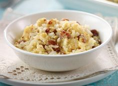 Baked Custard Rice Pudding recipe | Dairy Goodness