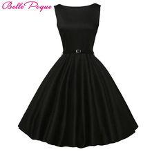 Belle Poque Καλοκαίρι Style Γυναίκες Εμπνευσμένο Vintage Ένδυση Ρετρό '50 Big Swing Audrey Hepburn Polka Dot Plus Μέγεθος Γυναίκα Φορέματα (Κίνα (ηπειρωτική χώρα))