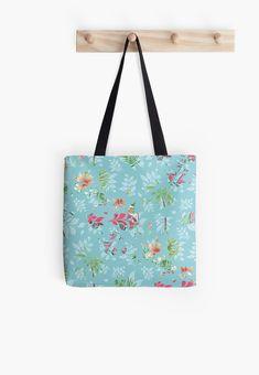 'Summer Van' Tote Bag by Shane Simpson Cotton Tote Bags, Reusable Tote Bags, Poplin Fabric, Iphone Wallet, Shopping Bag, Vans, Retro, Artist, Stuff To Buy
