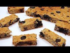 Bizcocho de avena con 3 ingredientes y sin azúcar - YouTube Easy Sweets, Quick Easy Desserts, Nutella Cookies, Oatmeal Cookies, 5 Ingredient Recipes, Banana Dessert, Sweet Bar, Sponge Cake Recipes, Brownie Recipes