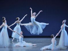 "Sara Mearns in George Balanchine's ""Serenade"" - New York City Ballet"