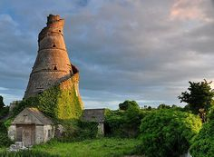 Ancient Tower, Leixlip, County Kildaire, Ireland (on the way from Dublin to Galway)