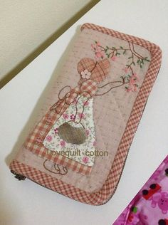 Embroidery...needle case