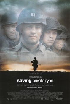 This movie tells a true story about the Invasion of Normandy from the perspectives of the Niland Brothers, directed by Steven Spielberg.