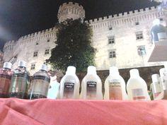 I nostri prodotti sotto il castello di Bracciano 2013 - Notte Bianca
