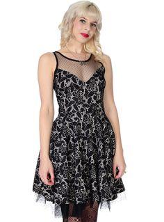 Amazing Lace Retro Dress | PLASTICLAND