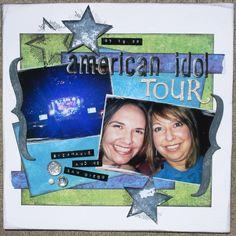 American Idol Tour - Scrapbook.com