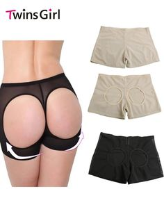 3.59$  Buy here - Women Lace Butt Lifter Shaper Plus Size Control Panties Sexy Buttocks Enhancer Panty Boyshort thin thick Tummy Slim Shapewear   #SHOPPING