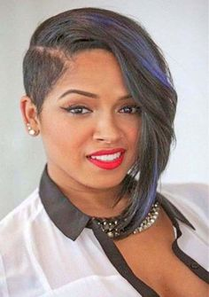 Browse here to see the most amazing ideas of short asymmetrical hairstyles trends for black women to show off in 2018. These short haircut varieties are versatile for black ladies to use in these days. Don't search any more, just see here and choose the best styles of short haircuts to create in these days.