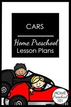Car Theme Home Preschool Lesson Plans-Hands-on learning with toy cars, STEM inspired play and printable learning activities