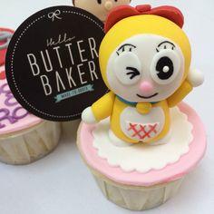 Doraemon sister cupcake