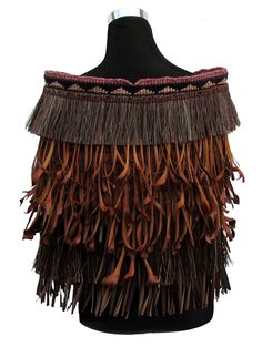 Nothing is wasted – Weaving Is Pretty Awesome Flax Weaving, Weaving Art, Weaving Patterns, Hand Weaving, Punk Costume, Maori Patterns, Maori Designs, Nz Art, Tlingit