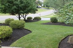 Top Amazing Black Rock Landscaping 8 Black Mulch Landscaping on Landscaping Beauty Black Landscaping Rock Black Rock Landscaping, Privacy Landscaping, Landscaping Supplies, Landscaping With Rocks, Front Yard Landscaping, Landscaping Ideas, Landscape Design, Garden Design, House Design