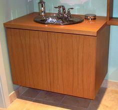 Hung Vanities for Grandstar Builders  Austin Modern Bathroom Vanities