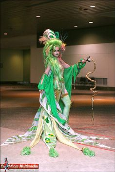 Jia Jem as Rydia from Final Fantasy IV