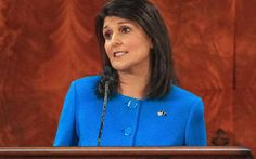 S.C. Gov. Nikki Haley will deliver the Republican response to the State of the Union address on Jan. 12.